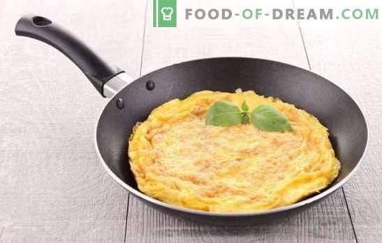 Omelet classic - francuskie śniadanie. Jak ugotować klasyczny omlet: proste i smaczne przepisy