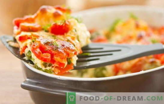 Zapiekanka z cukinii i pomidorów jest lekkim i wypełnionym naczyniem na obiad. Najciekawsze przepisy na zapiekankę z cukinii i pomidorów