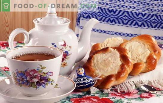 Drożdżowe Serniki - przepisy mojej babci. Ciasta drożdżowe: tradycyjne, słone i jagodowe, z dżemem
