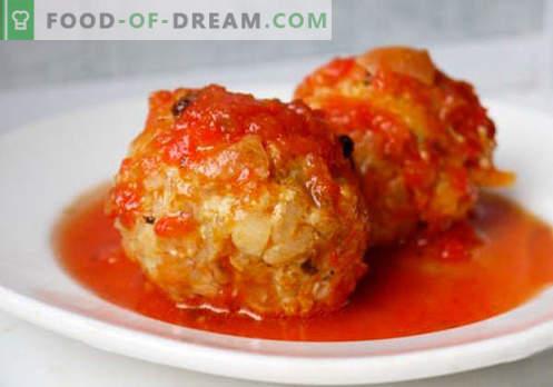 Mielone klopsiki - sprawdzone przepisy. Jak właściwie i smacznie gotować klopsiki z mięsa mielonego.
