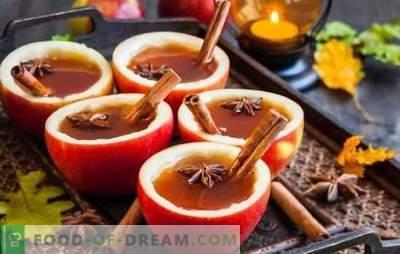 Bezalkoholowe grzane wino - bez stopnia, ale pachnące i gorące. Bezalkoholowe grzane wino w domu na soki i herbatę