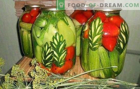 Różne ogórki: jak to zrobić? Wybierz marynatę do różnorodnych ogórków z pomidorami, kalafiorem, cukinią, słodką papryką