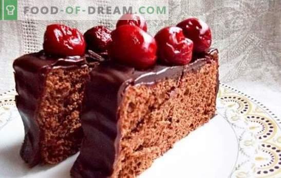 Bujny czekoladowy biszkopt w multicooker jest podstawą kreatywności. Sekrety idealnego czekoladowego biszkoptu w wolnej kuchence