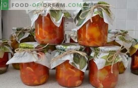 Papryka i czosnkowe pomidory - aromatyczne trio. Najlepsze przepisy na przekąski i półfabrykaty pomidorów z papryką i czosnkiem: szybkie, na zimę, pikantne, koreańskie