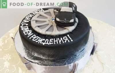 Tort urodzinowy dla mężczyzny jest najsłodszym prezentem! Wybór różnych ciast dla mężczyzn w jego urodziny