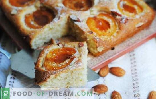 Słońce na spodku - kotlety morelowe mamy w piekarniku. Ciasto słodkie, francuskie i twarożne na placki z morelami w piekarniku