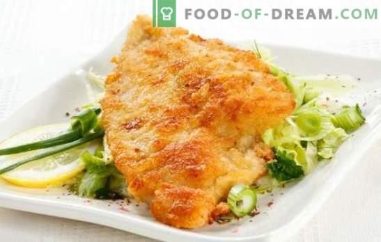 Tilapia w cieście to delikatna ryba w chrupiącej skórze. Wybór najlepszych przepisów tilapia w cieście: piwo, ser, jajko