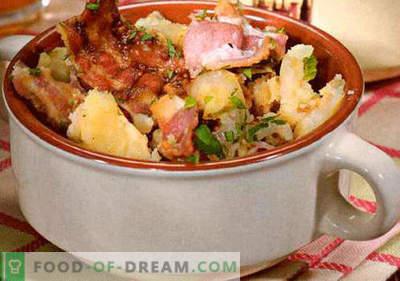Sałatka niemiecka - wybór najlepszych przepisów. Jak właściwie i smacznie gotować niemiecką sałatkę.