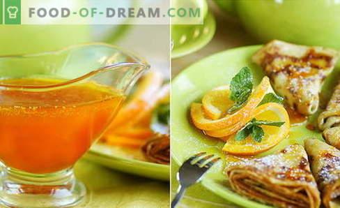 Pomarańczowy sos - najlepsze przepisy. Jak gotować pomarańczowy sos.