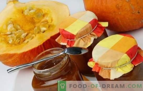 Pumpkin jam - jasny przysmak w rezerwie! Sunflower Pumpkin Jam Recipes with Citrus, Apples, Nuts