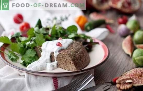 Suflet z wątróbek drobiowych - danie dietetyczne? Soufflé z wątróbką drobiową pieczoną na parze i pieczoną w piecu