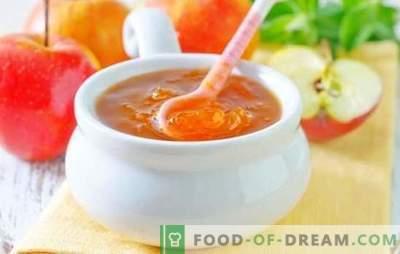 Galaretka jabłkowa na zimę - bursztynowa słodycz! Przepisy różnych galaretek z jabłek na zimę: z żelatyną i bez zagęszczaczy