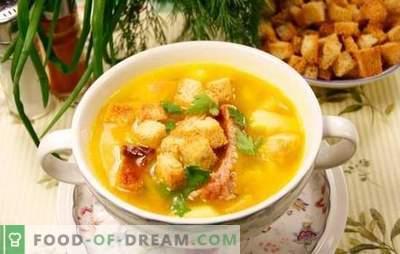 Wędzona zupa z kurczaka: smak jest niesamowity, a smak zostanie zapamiętany na zawsze! Jak gotować zupy z wędzonym kurczakiem?