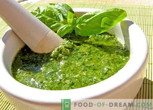 Sos Pesto - najlepsze przepisy. Jak prawidłowo i smacznie przygotować sos pesto.