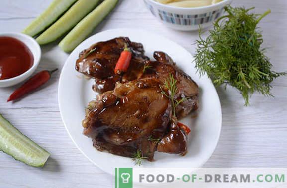 Smażony kurczak w sosie sojowym na patelni - w 20 minut! Autorski przepis na dietetycznego smażonego kurczaka w sosie sojowym krok po kroku