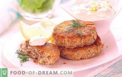 Czerwone kotlety rybne - świąteczny przysmak i zdrowy obiad. Różne przepisy na czerwone kotlety rybne na każdą okazję