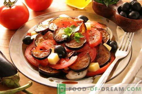 Bakłażan z pomidorami - najlepsze przepisy. Jak prawidłowo i smacznie gotować bakłażany z pomidorami.