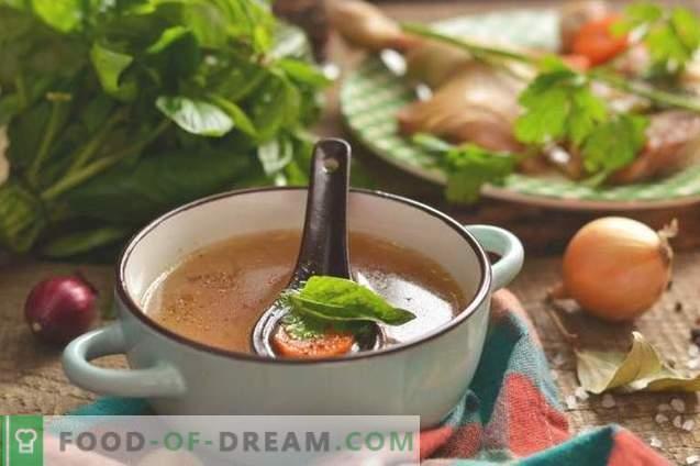 Rosół z uda z kurczaka - bogaty i aromatyczny