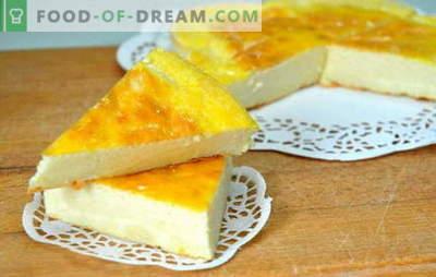 Kefirowa zapiekanka - najbardziej ukochana na świecie! Różne receptury aromatycznych zapiekanek na kefir z serem warzywnym i twarogowym