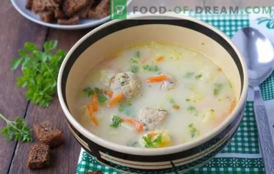 Juha s sirom v počasnem štedilniku - hitro! Najboljši recepti za sirno juho v počasnem štedilniku: s klobaso, ribami, gobami, zeljem, rižem