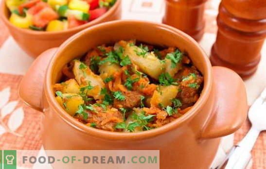Pieczone garnki mięsne z mięsem i ziemniakami - czy to pierwszy czy drugi? Przepisy na domowe pieczenie z mięsem i ziemniakami na obfite posiłki