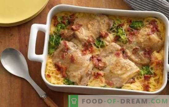 Ziemniaki z kurczaka: przepis krok po kroku. Jak szybko i smacznie gotować pyszne ziemniaki w piekarniku z kurczakiem na przepisach krok po kroku