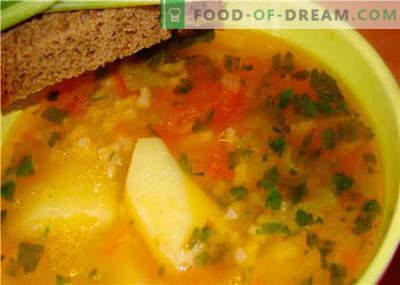 Zupy bez mięsa - najlepsze przepisy. Jak prawidłowo i smacznie zupa bez mięsa.