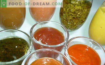 Sos sałatkowy to najlepsze przepisy. Jak właściwie i gotować sos do sałatki.
