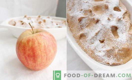 Apple Soufflé - najlepsze przepisy. Jak szybko i smacznie gotować suflet jabłkowy.