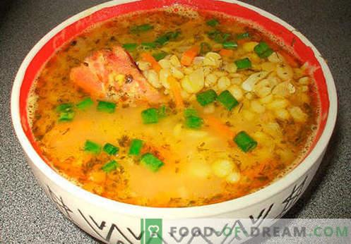 Zupa ziemniaczana - sprawdzone przepisy. Jak prawidłowo i gotować zupę ziemniaczaną.
