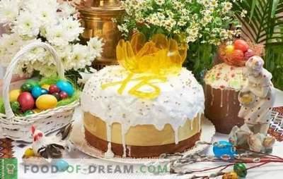 Ciasto wielkanocne bez drożdży jest alternatywą dla pieczenia drożdży. Jak upiec pyszne ciasta bez drożdży na jogurcie lub zakwasie w Wigilię Wielkanocną