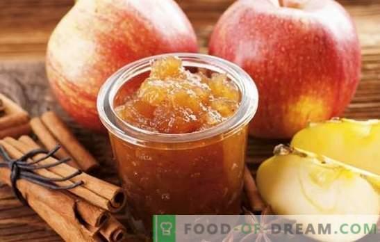 Domowy dżem jabłkowy na zimę - niezbędne przygotowanie! Przepisy różnych jabłek z jabłek w domu