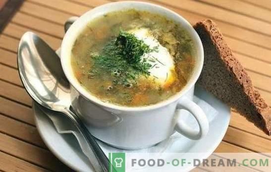 Zupa z kiszonej kapusty: 10 najlepszych sprawdzonych receptur. Sztuczki gotowania kapuśniaka z kapusty kiszonej: z mięsem i płatkami zbożowymi