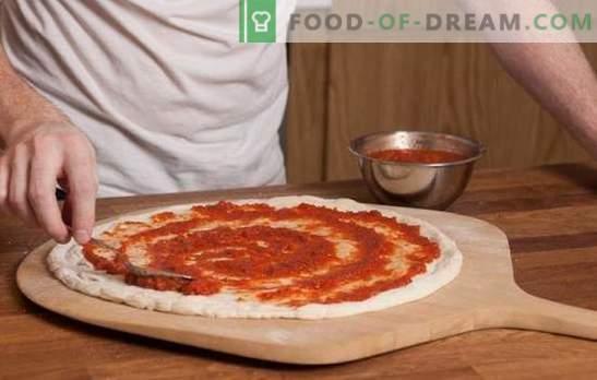 Sos pomidorowy do pizzy - podstawa włoskiego ciasta! Przepisy na pomidorowe sosy do pizzy z pomidorów, makaronu, czosnku, oliwek