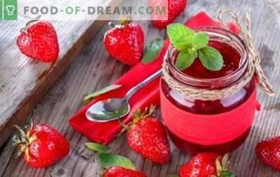 Dżem truskawkowy w wolnej kuchence - świetny deser na herbatę. Pyszny dżem truskawkowy w wolnej kuchence - dość pożądania i kilka pomysłów