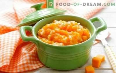 Dynia z mlekiem w wolnej kuchence to rzadkie i zdrowe danie. Jak gotować dynie z mlekiem w wolnej kuchence: minimum czasu, maksymalne korzyści