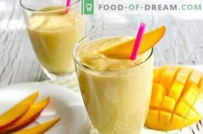 Mango Smoothies