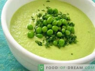 Zupa kremowa z zielonego groszku