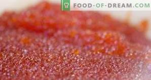 How to store red caviar