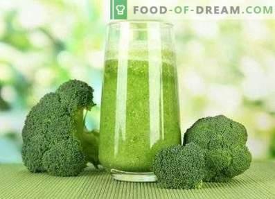 Koktajle z brokułów