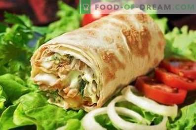 Pork shawarma