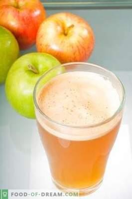 Cómo aclarar el jugo de manzana