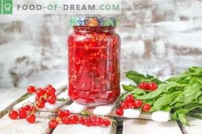 Czerwona porzeczka, tarta z cukrem na zimę