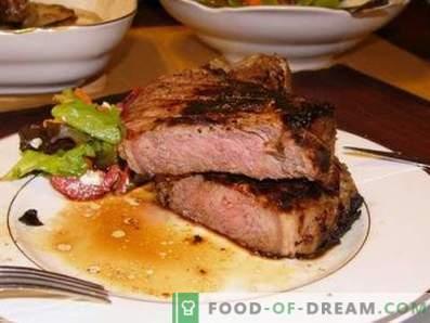 Stek wołowy w piekarniku