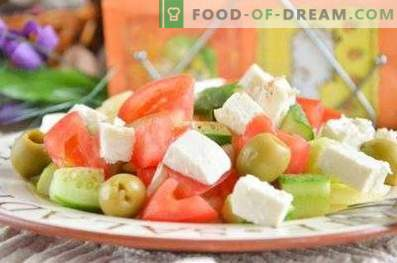 Jak gotować grecką sałatkę