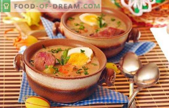 Zupa z wędzonej kiełbasy to szybki posiłek pierwszego dania. Sprawdzone receptury na zupy wędzonej kiełbasy