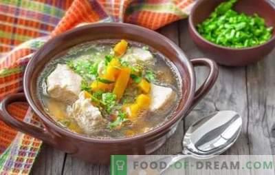 Zupa wieprzowa z ziemniakami - proste i pachnące przepisy. Jak gotować bogatą zupę na zupę wieprzową z ziemniakami